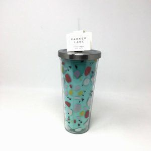 Parker Lane 22oz Double Wall Straw Tumbler Scatter